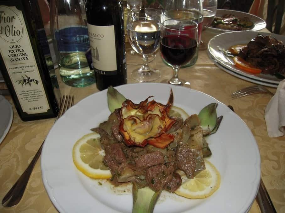 Overal in Umbrië kun je heerlijk eten