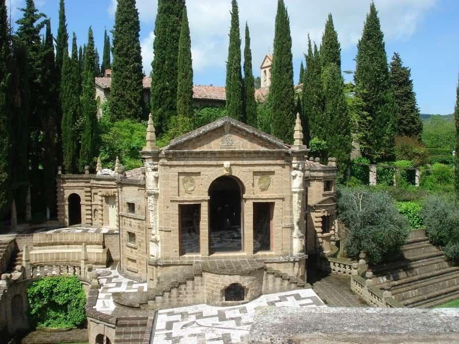 La Scarzuola, 'de ideale stad' van Tomaso Buzzi. Een droomplek in de Umbrische heuvels