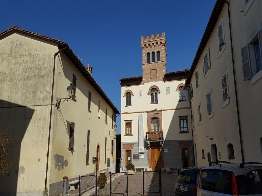 In San Venanzo kun je het vulkaan-museum bezoeken