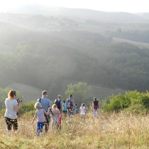 Direct vanuit Polmone kun je fantastisch wilde wandelingen maken