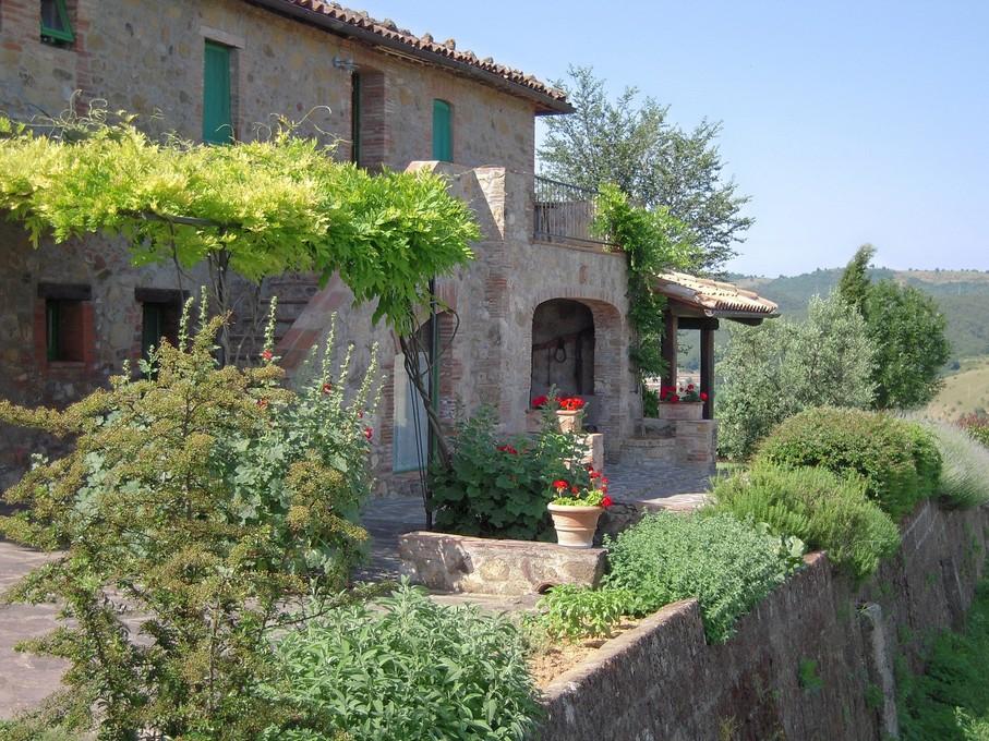 Coronaproof vakantie boeken in Umbrië in een appartement met 360 graden uitzicht