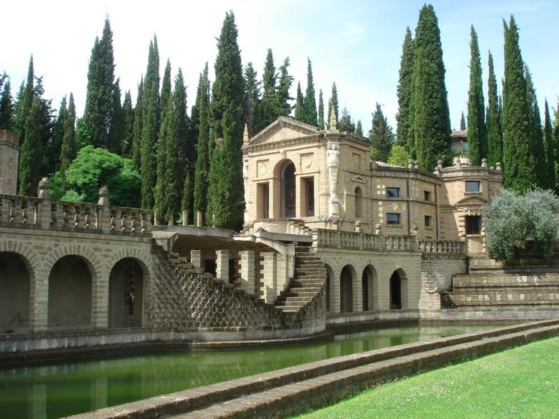 Bekende historische gebouwen bij La Scarzuola, droomplek in de Umbrische heuvels