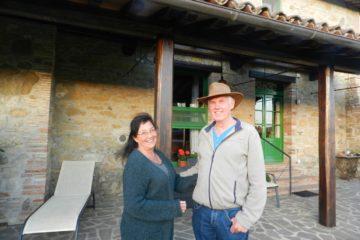 Elly en Jan voor de tweede keer te gast bij hun parel in Umbrie