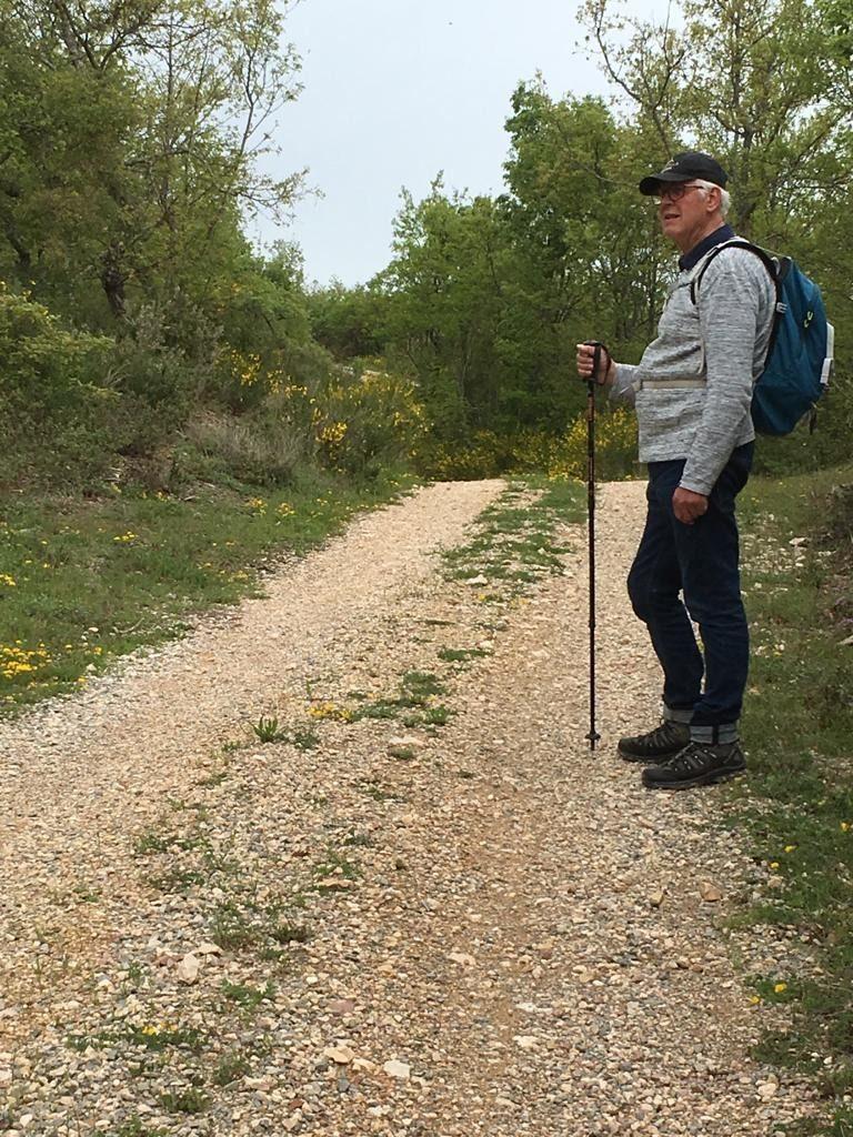 Wandelen in de omgeving van de parel in Umbrie