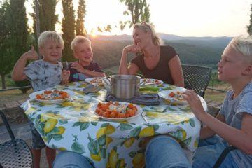 Eetpret in de zomervakantie met je kinderen