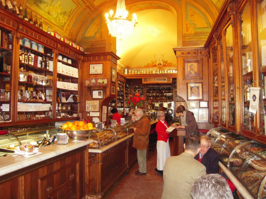Bar Sandri, de oudste en mooiste bar van Perugia