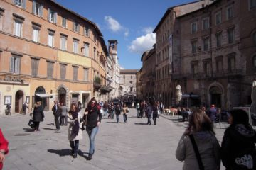 Perugia is een mooie en gezellige stad in Umbrië