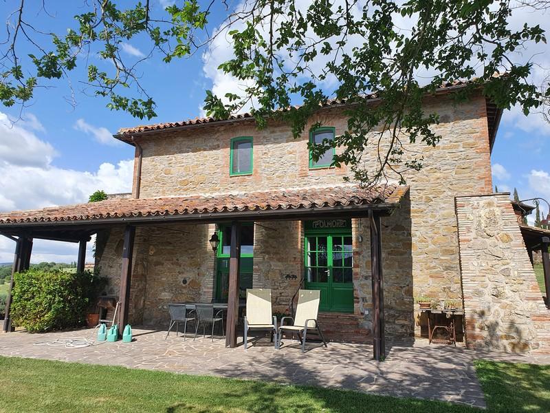 Coronaproof vakantie plek in Umbrië voor 5 personen