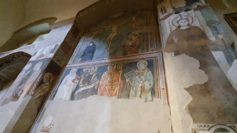 Fresco's in de San Giovenale