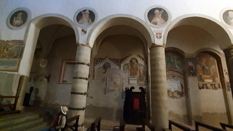 Interieur San Giovenale