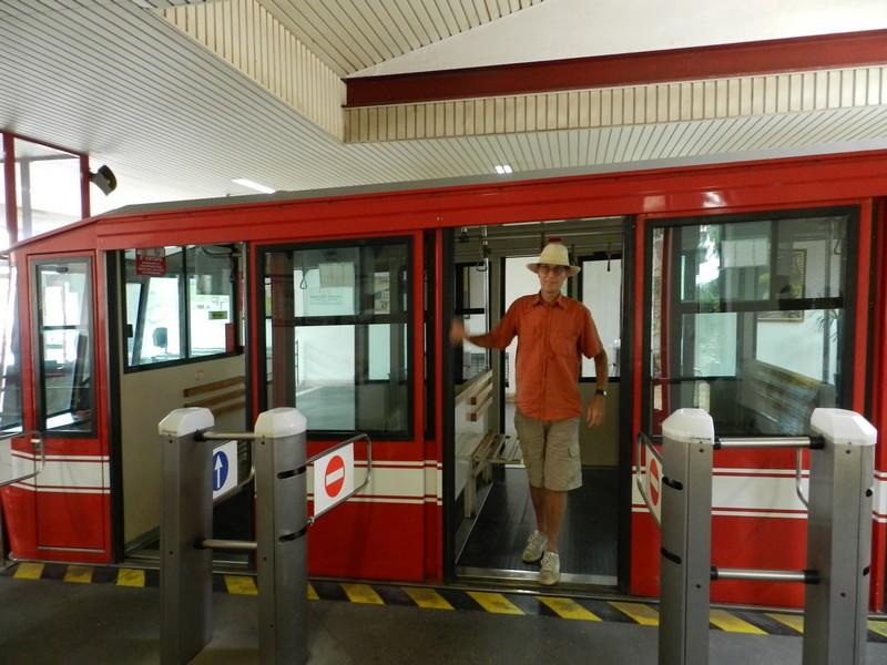 De Funiculare van Orvieto Scalo naar de bovenstad van Orvieto