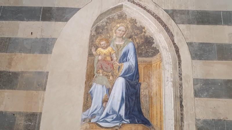 Maria met kind in de Duomo van Orvieto