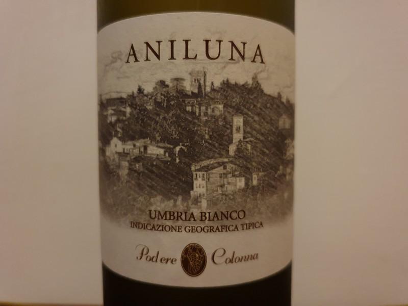 Een mooie witte wijn van de regio Umbrië