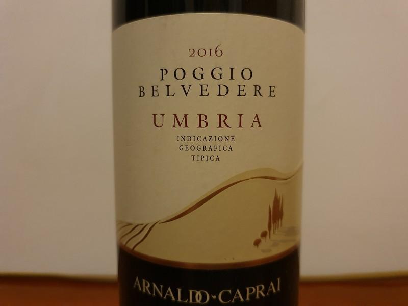 Deze wijn van de regio Umbrië heeft het IGT certifikaat