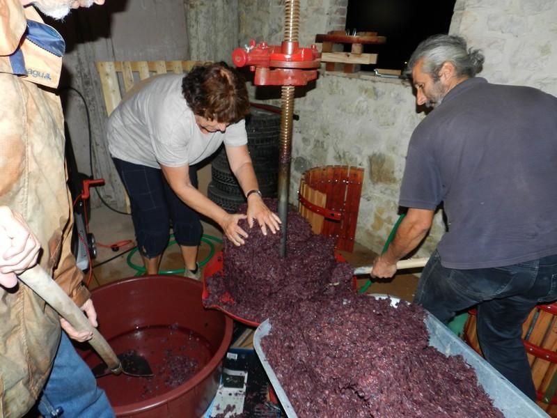 Even opruimen voordat we wijn uit de regio Umbrië kunnen drinken